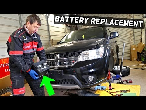 DODGE JOURNEY BATTERY REPLACEMENT LOCATION FIAT FREEMONT