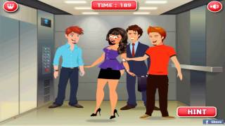 getlinkyoutube.com-Hướng dẫn chơi game Chọc phá trong thang máy - NAUGHTY ELEVATOR trên Game Vui