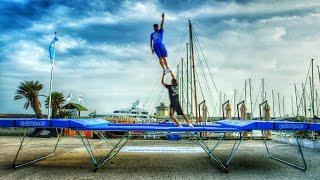 getlinkyoutube.com-World's Best Trampoline Tricks! in 4K! Eurotramp
