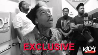 Wiz Khalifa - Freestyle With K104's A Bay Bay