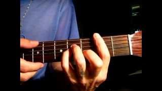 Как играть на гитаре аккорд Hm