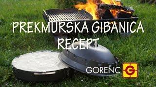 getlinkyoutube.com-PREKMURSKA GIBANICA izpod GORENC PODPEKE po moje - RECEPT (sač podpeka)