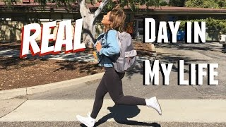 A REAL Day in My Life: College Student