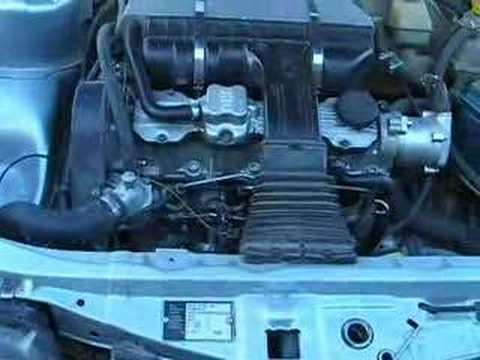 Opel Ascona 16D Diesel Engine
