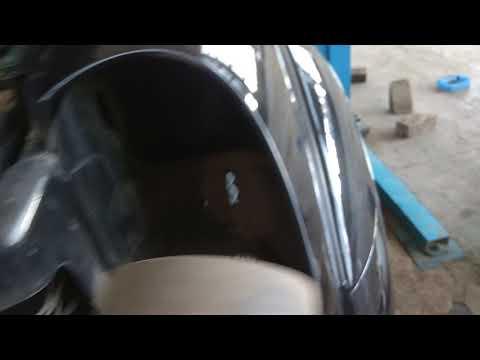 Как снять фару - заменить лампочку в SsangYong REXTON