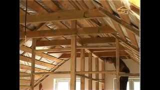 getlinkyoutube.com-Мансарда. Как обустроить помещение под крышей дома.