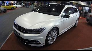 VW PASSAT VARIANT R LINE !! NEW MODEL !! WHITE AND MATTE WHITE COLOUR !! WALKAROUND AND INTERIOR !!