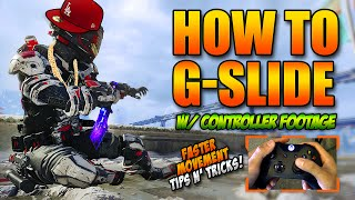 "getlinkyoutube.com-How To ""G-Slide"" in BO3 w/ Controller Footage! Faster Movement Tips n' Tricks (Without Scuf)"