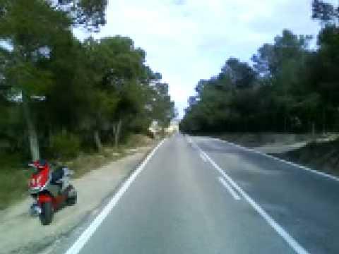 aerox metrakit pro race to 140/150km/h