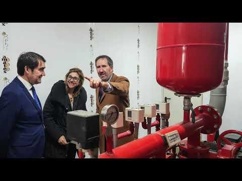 REBI SLU: El consejero delegado de Rebi en la inauguración de la Red de Calor con Biomasa de Aranda de Duero