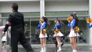 getlinkyoutube.com-慶應義塾大学応援チャンスパターンメドレー 慶早合同応援デモンストレーション2013