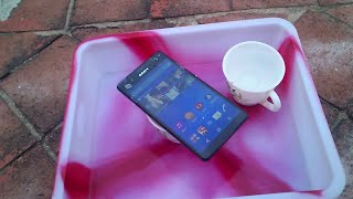 getlinkyoutube.com-Sony Xperia C4 Water Test - It Is Water Resistant?