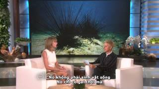 getlinkyoutube.com-[Vietsub] Taylor Swift's Deepest Fear (Ellen Show 2014)