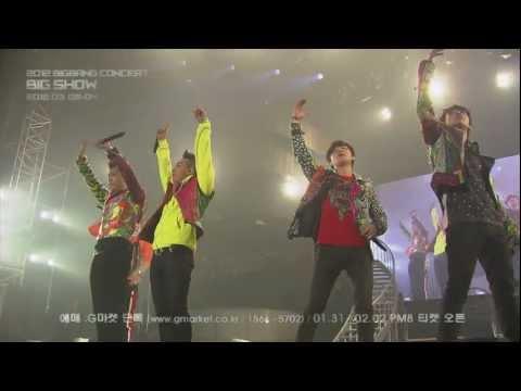 2012 BIGBANG CONCERT - BIG SHOW SPOT