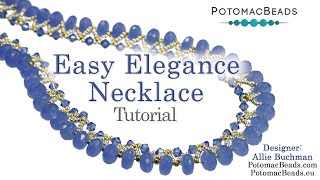 getlinkyoutube.com-Easy Elegance Necklace
