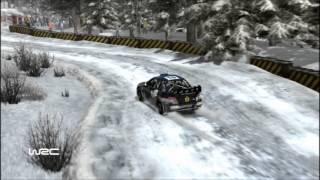 ADAPTA WORLD TEAM RALLY WRC 2010 SWEDEN SS4