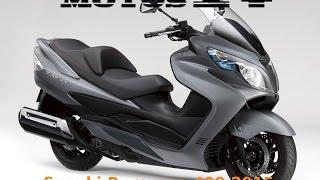 getlinkyoutube.com-Suzuki Burgman 400 ABS 2015 Prueba