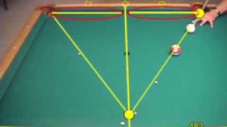 getlinkyoutube.com-Pool bank and kick shot terminology and aiming systems, from VEPS IV (NV B.81)