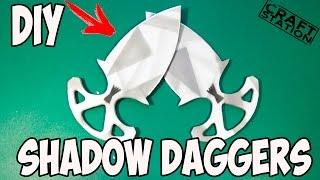 getlinkyoutube.com-How to make Shadow Daggers from CS:GO with templates