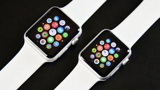 getlinkyoutube.com-Apple Watch Sport (38mm & 42mm): Unboxing & Demo