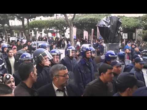 Marche des leaders de l'opposition à Alger