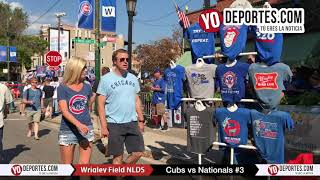 Chicago Cubs Wrigley Field NLDS 2017 Game #3