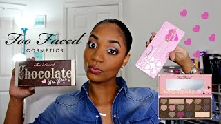 getlinkyoutube.com-❤ REVIEW & SWATCHES ❤ *NEW* Too Faced Chocolate Bon Bons Eyeshadow Palette