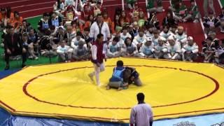 getlinkyoutube.com-160118 아육대 - 씨름 결승 빅스 vs 방탄소년단