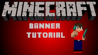 getlinkyoutube.com-How to make a Minecraft Banner with Gimp and Cinema 4D