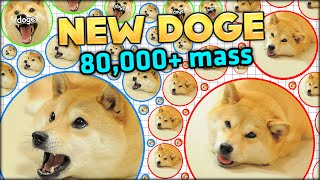 getlinkyoutube.com-NEW DOGE, NEW GAMEMODE! MIX UP AGARIO GAMEMODE 80,000+ MASS - BIGGEST EVER! (Agar.io #135)