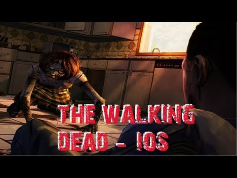 The Walking Dead iOS Gameplay Trailer and First Look iPhone/iPod/iPad