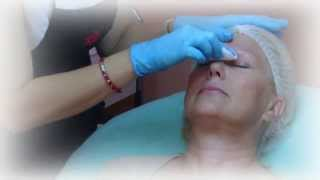 getlinkyoutube.com-Hand method Eyebrows Permanent Makeup, Embroidery Eyebrows tattoo. Microblading.