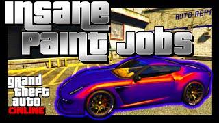 getlinkyoutube.com-GTA 5 Online: SECRET Paint Jobs - FADE, MARBLE, GLOWING YELLOW! BEST Paint Jobs (GTA V)