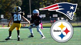 getlinkyoutube.com-Steelers Vs Patriots | JV Football