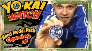 getlinkyoutube.com-Yo-Kai Watch Series 1 Blind Medal Pack Openings - Part 8 | Venoct FINALE!