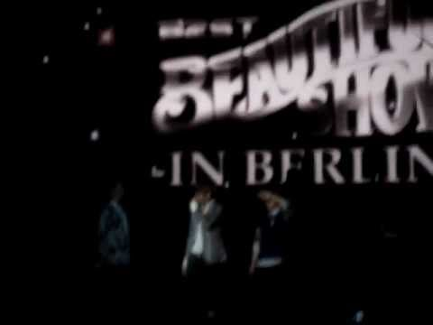 [fancam] 120212 BEAST - Junhyung saying &quot;Mein Schatz&quot; (Beautiful Show in Berlin)