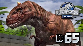 getlinkyoutube.com-Rage!! || Jurassic World - The Game - Ep 65 HD