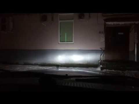 Светодиодные лампы в головном свете автомобиля
