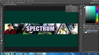getlinkyoutube.com-How to Make a Collage Banner in Photoshop CC/CS6