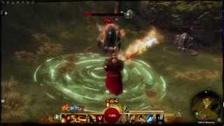 getlinkyoutube.com-Guild Wars 2 Beta: Elementalist Conjure Weapon Utility Skills
