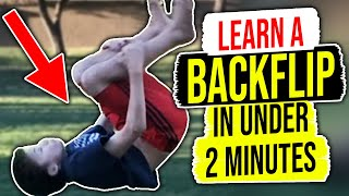 getlinkyoutube.com-How To Do A Backflip For Beginners On Ground