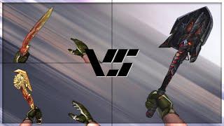 getlinkyoutube.com-CrossFire 2.0 : SHOVEL-BORN BEAST vs Melee VIP's [VVIP Melee Comparison]