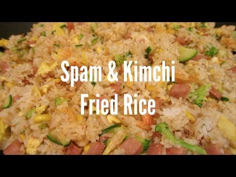 Spam & Kimchi Fried Rice - Cook With Kat #3