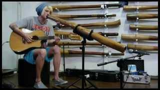 getlinkyoutube.com-Fingers Mitchell Cullen performing live @ Didgeridoo Breath, Fremantle