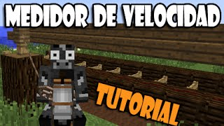 getlinkyoutube.com-MINECRAFT: TEST DE VELOCIDAD PARA CABALLOS ¡TUTORIAL!