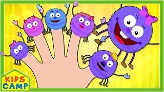 getlinkyoutube.com-Spider Finger Family And Many More Finger Family Songs for Children | Nursery Rhymes by KidsCamp