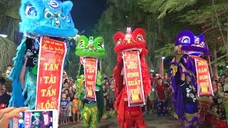 getlinkyoutube.com-Múa Lân Sư Rồng 2015,Lion dance, Lion dance mid-autumn festival