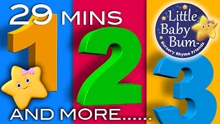 getlinkyoutube.com-Numbers Songs | And More! | 29 Minutes Collection of Learning 123s Videos from LittleBabyBum!