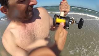 getlinkyoutube.com-South Texas Surf Fishing - Stingray