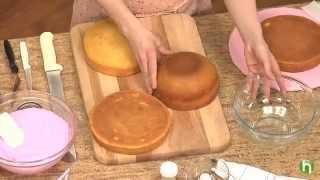getlinkyoutube.com-Comment faire un gâteau princesse